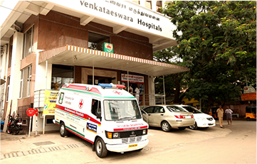 Venkataeswara Hospitals Ambulance